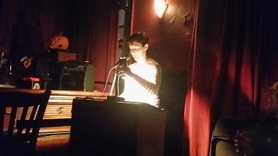Erika Swyler reading from her second novel in progress