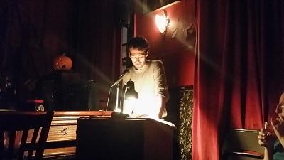 "Julian Tepper reading from ""Ark"""