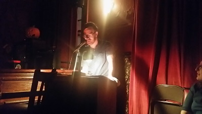 Stephen Langlois reading from his short fiction